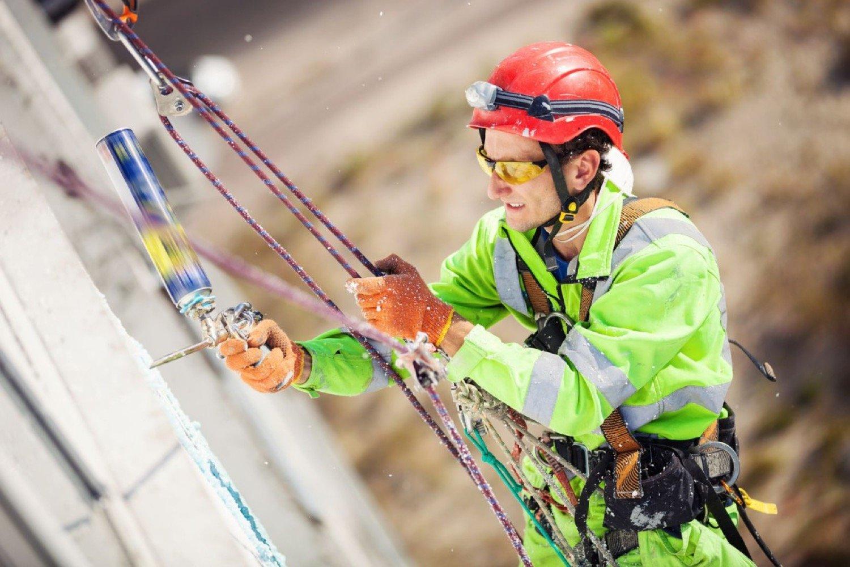 Услуги промышленные альпинисты москва