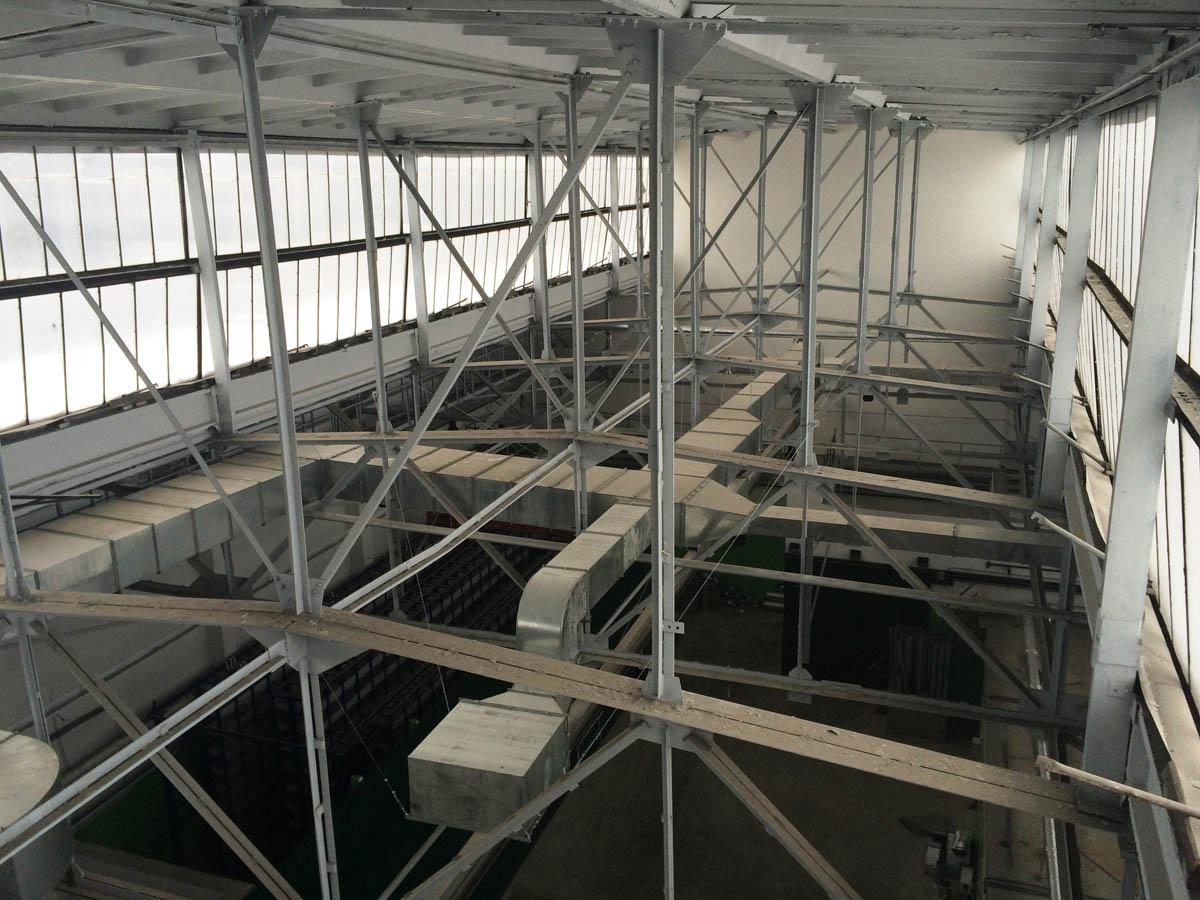 обеспыливание промышленных зданий цехов